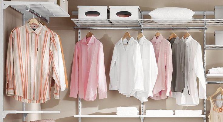 die besten 25 regalsysteme kleiderschrank ideen auf pinterest regalsysteme. Black Bedroom Furniture Sets. Home Design Ideas