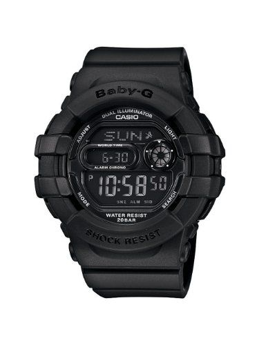 Casio Womens BGD140-1ACR Baby-G Shock-Resistant Multi-Function Digital Watch