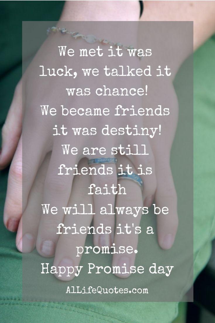 Happy Promise Day Quote Citat Livet