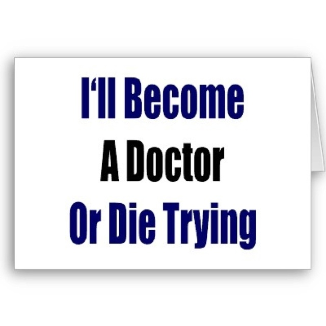 How do you become a doctor?