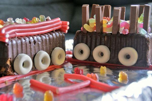 ¡¡¡ Un pastel de Tren chulísimo sin horno!!!