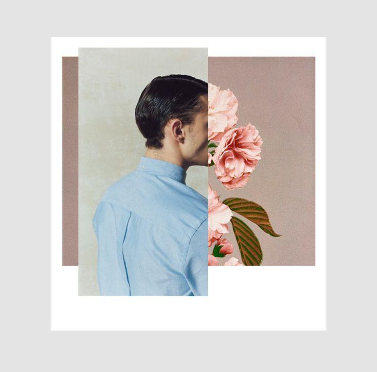 """qexist: """" P O L A R O I D : M E N + F L O W E R S (Graphic processing: Antonio Schimera) qexist.tumblr.com/ """""""