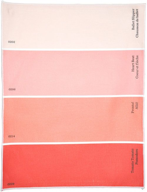 Best 20 coral color ideas on pinterest coral color - Peach color paint palette ...