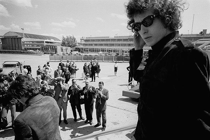 Jean-Marie Perier - Photographe - Bob Dylan. Angleterre 1966.