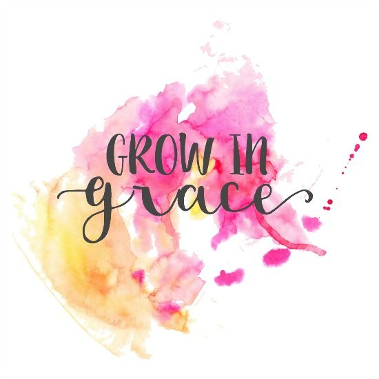 There was a time that I thought it was just an act, a thing. Grace was what you said before a meal or a just-because gift for a friend. Grace showed up in