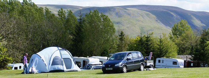 Campsite near Ullswater