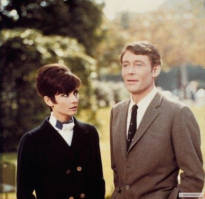 William Wyler once confided in Peter O'Toole that Audrey seemed blue during the…