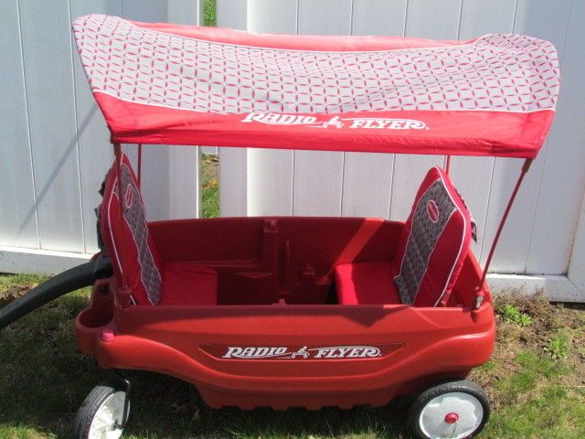 Radio Flyer 3145 2 Person 5 in 1 Family Wagon With Canopy Red  #RadioFlyer #RedWagon #FamilyWagon #Red #3145 #dandeepop