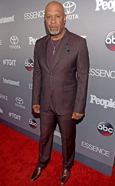 James Pickens, Jr. at EW's Shondaland party