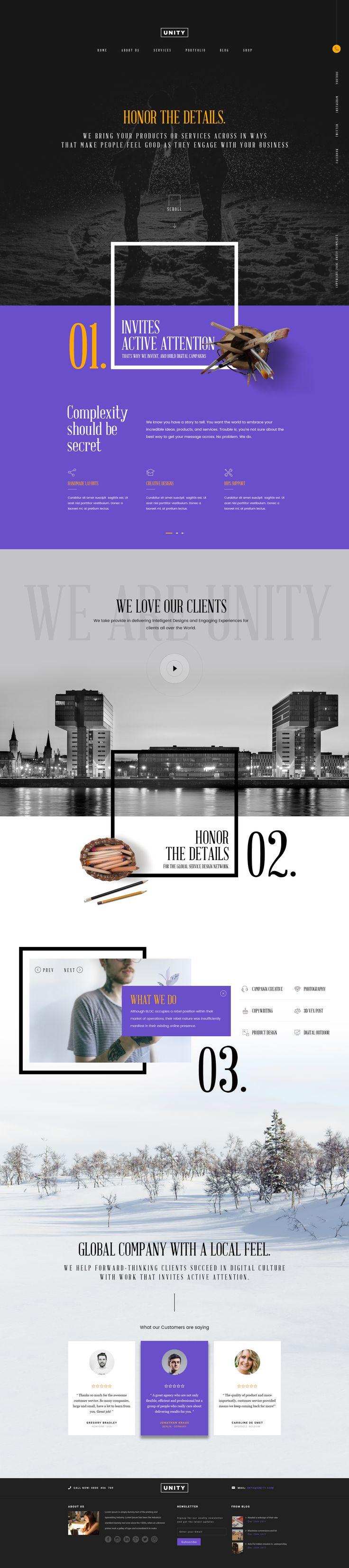 12 best Web Site images on Pinterest   Unity, Website and Design web