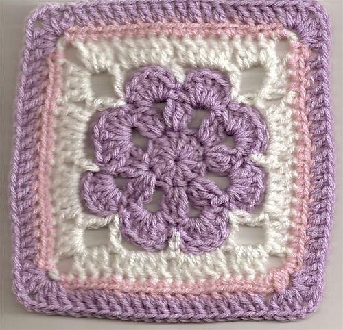Ravelry: Free SmoothFox's Just Peachy Blossom 6x6 pattern by Donna Mason-Svara