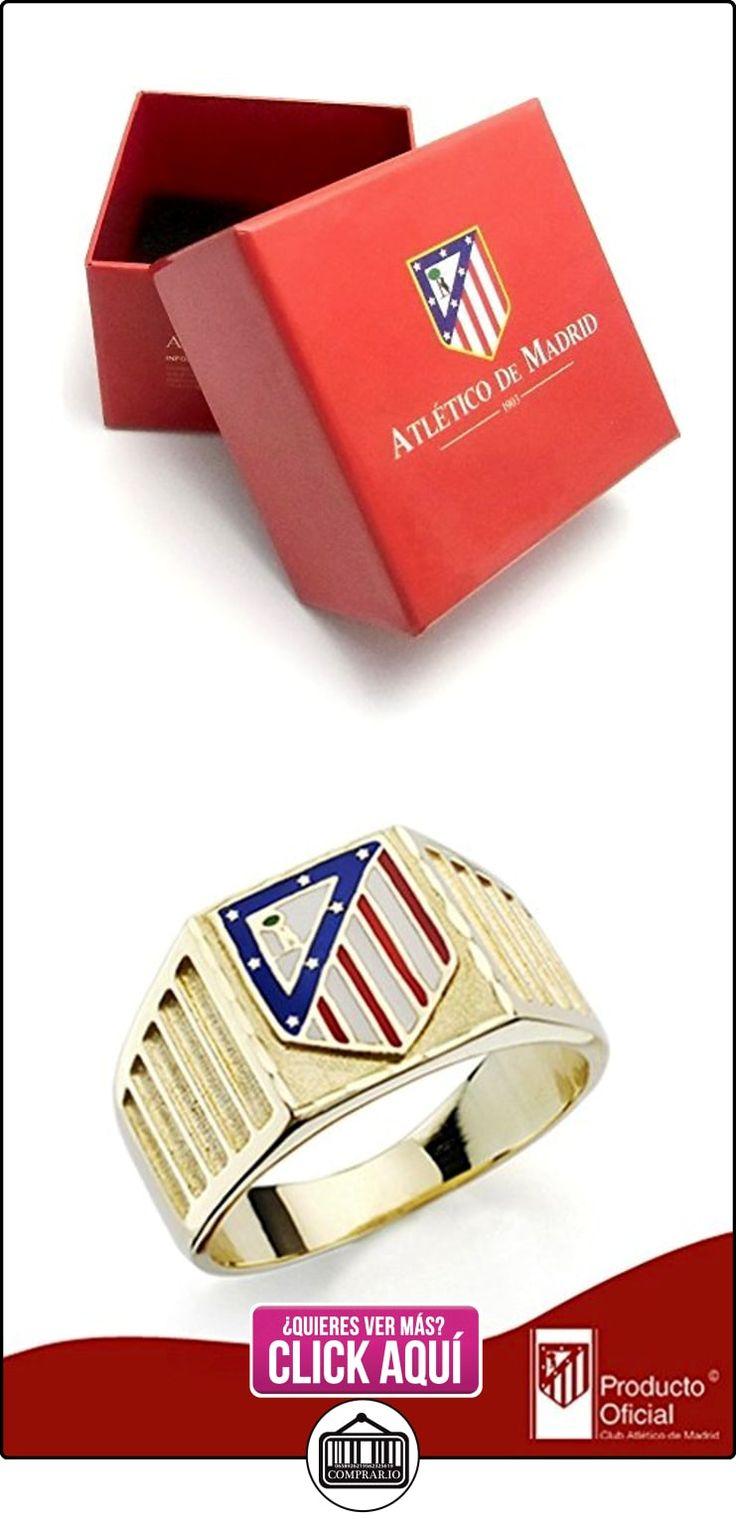 Sello escudo Atlético de Madrid oro de ley 18k [AA2326] - Modelo: 20-172  ✿ Joyas para hombres especiales - lujo ✿ ▬► Ver oferta: https://comprar.io/goto/B01M1K1JLX