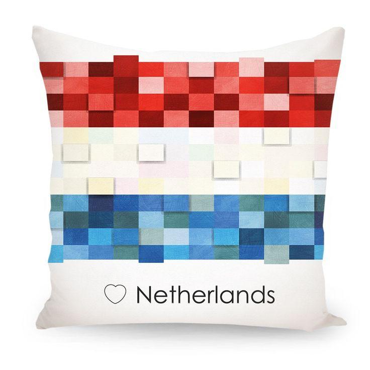 Pillow Netherlands Holland flag, Europe