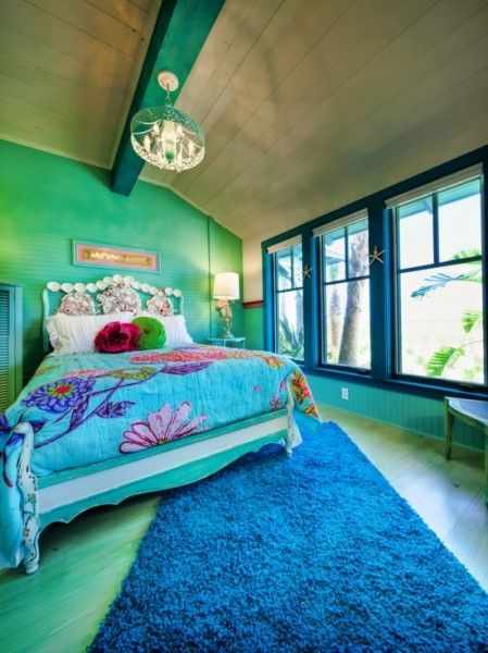 72 best under the sea bedroom images on pinterest sea for Sea green bedroom designs