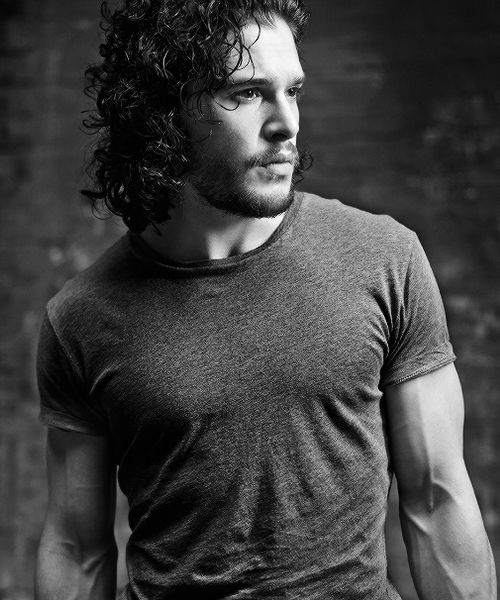 """Kit Harington """"There are definitely things I've picked up over the course of Thrones. The physical stuff within a role is something I respond to anyway – I always enjoy that side of things. And it's very much a part of who Jon Snow is – he doesn't talk a lot but he speaks through his actions. I've really enjoyed getting into those bits, whether it's rock climbing, ice climbing, sword fighting, horse riding. And not everyone in Thrones gets to do it."""""""