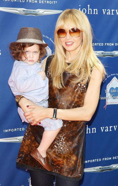 Stylish Celebrity Mom: Rachel Zoe Considering that Rachel Zoe is responsible for the red-carpet moments of a good number of ladies on this list, it's no surprise the power stylist and fashion designer has a spot here too. She's already landed two-year-old son Skyler a place on our list of fashion-forward celebrity kids to watch as well. Glamour.com