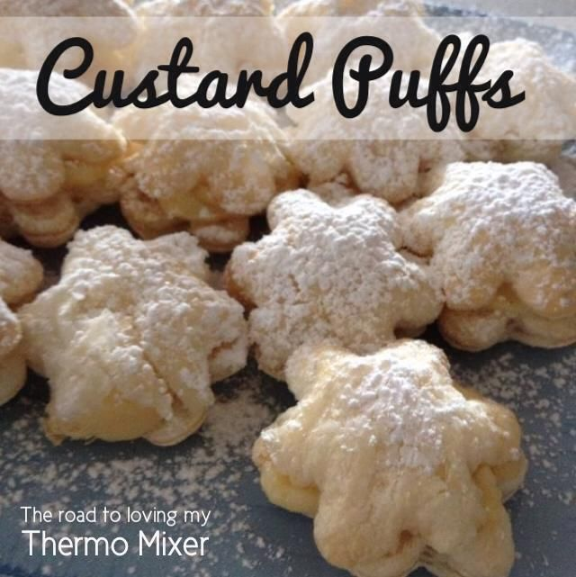 Custard Puff - simple uses EDC custard & puff pastry
