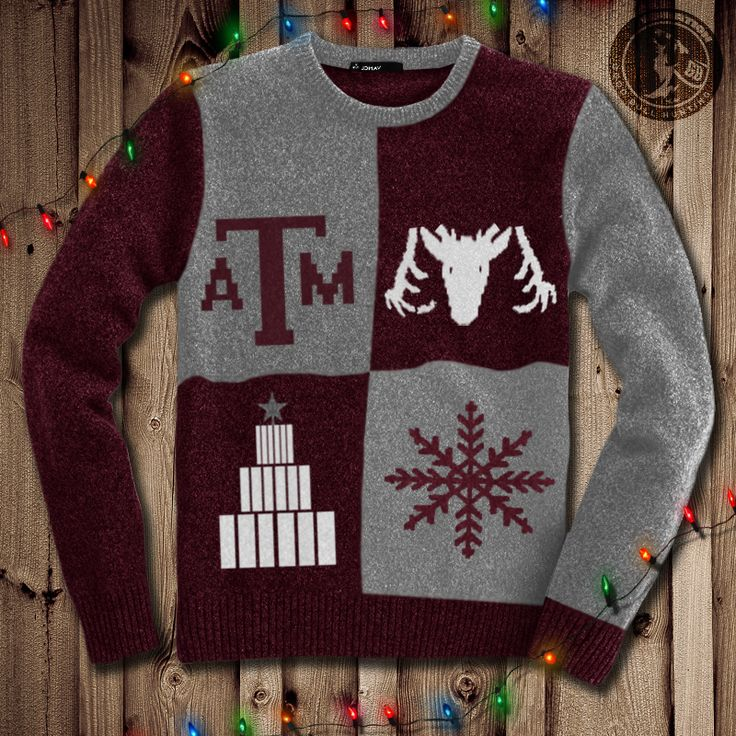 Ugly Aggie Christmas Sweaters - Good Bull Hunting