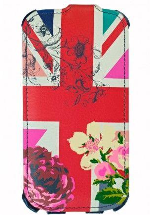 Etui Accessorize motif drapeau fleurs Galaxy S3  19,90€