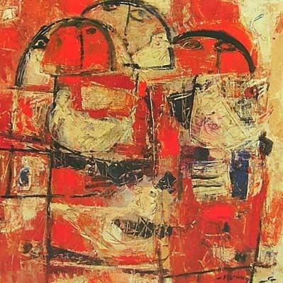 Untitled (1965) - Fateh Moudarres