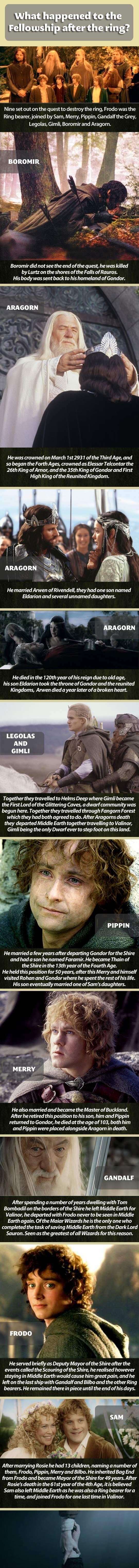 What happened to the Fellowship.
