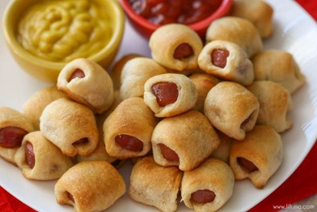 50 Kids Birthday Party Food Ideas | Homemade Recipes | http://homemaderecipes.com/50-kids-birthday-party-food-ideas/
