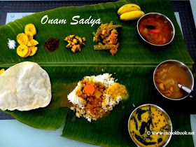 Onam Sadhya - Onam Special Recipes | Ezcookbook HAPPY ONAM. Here is a list of delicious recipes prepared specially during Onam.