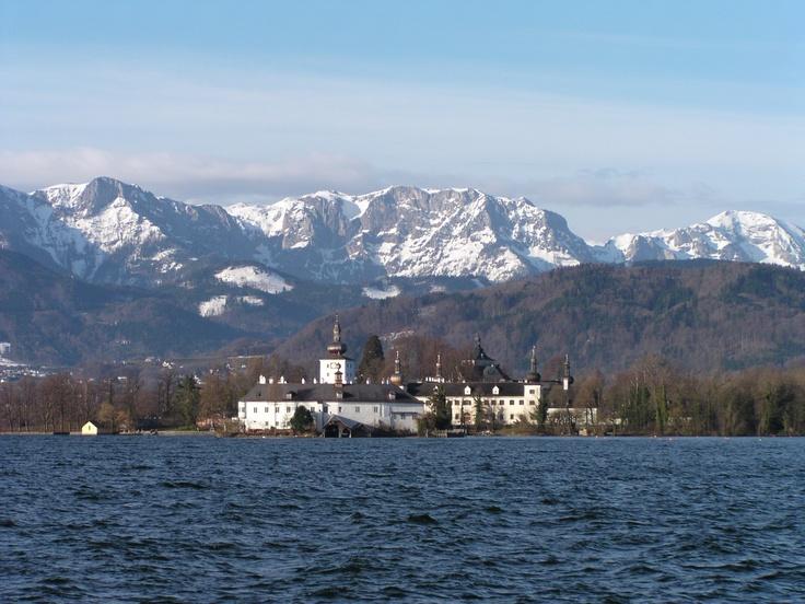 Schloss Ort, Gmunden, Austria. I want to go BACK.
