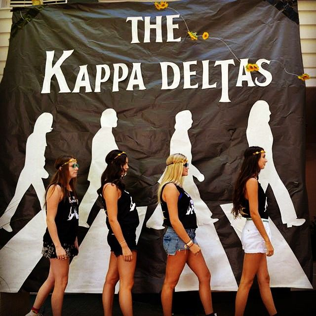 Kappa Delta at University of Washington. One of the coolest things I've seen in a while.