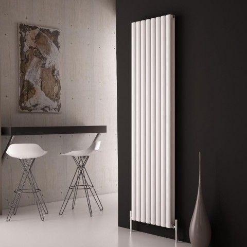 Milano Aruba Ayre - Aluminium Designer Radiator - http://www.bestheating.com/milano-aruba-ayre-aluminium-white-vertical-designer-radiator-1800-x-470.html