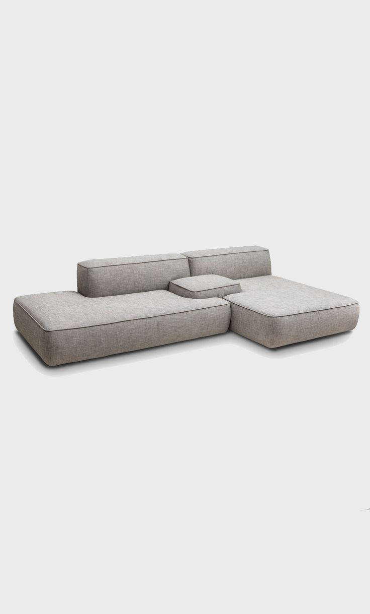 Modular sofa: no legs or really small low legs