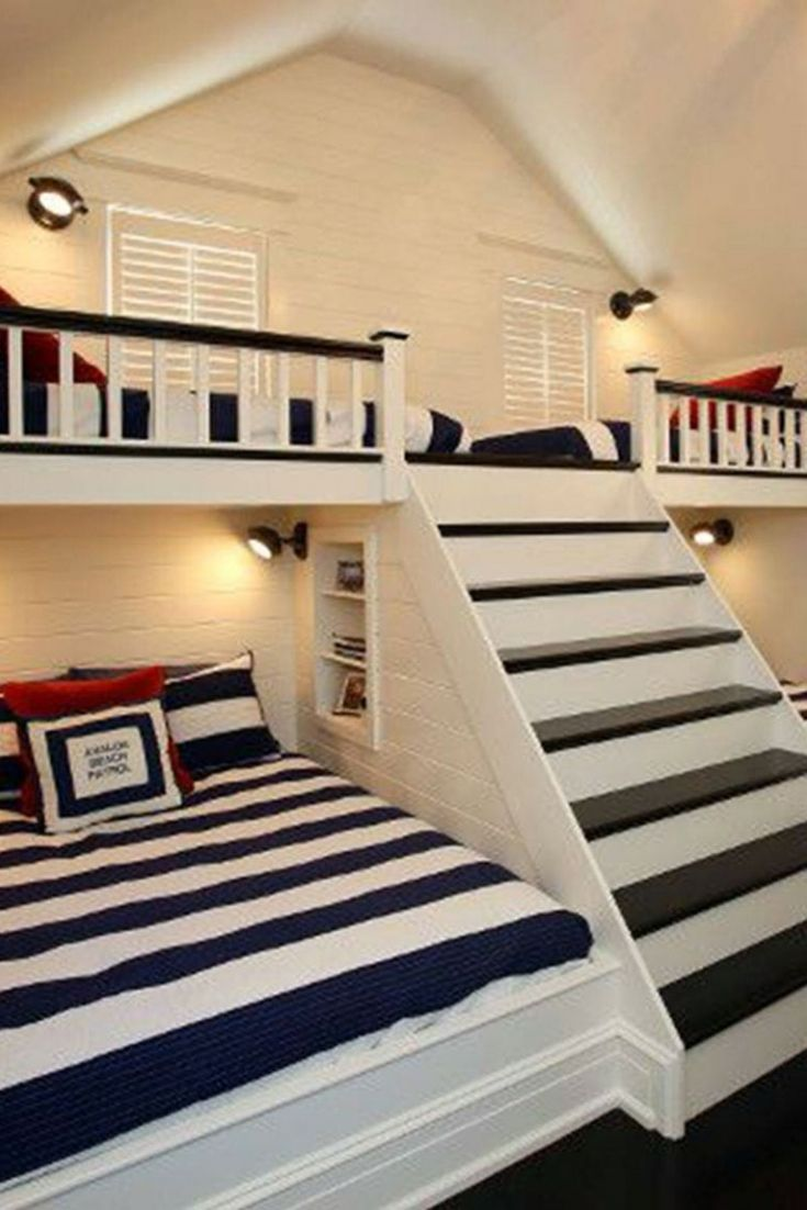 Kids Bed With Play Area In 2020 Bedroom Design Bedroom Loft Kid Room Decor
