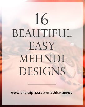 Do it Yourself: 16 Easy and Beautiful #Mehndi #Designs 2015 Images specially for Eid Festival