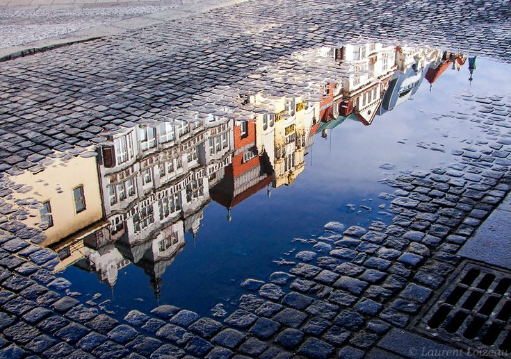 Even though it's Prague, it reminds me of Denmark. Not to mention how beautifully done the reflection is.