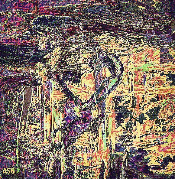 """""""РОК-Н-РОЛЛ"""" - Изобразительное искусство - Масло, акрил"""