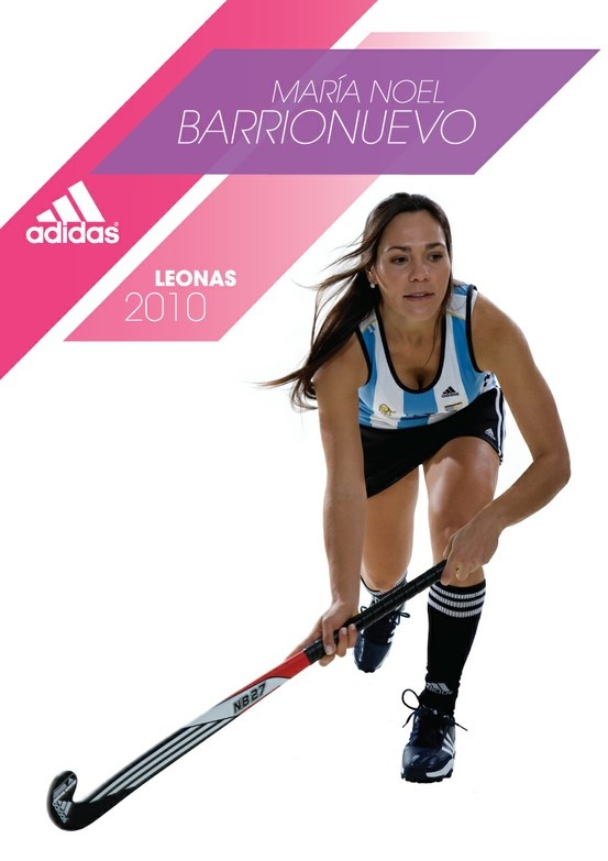 Publicidad Leonas 2010 - Maria Noel Barrionuevo, Adidas. Para 5 Yardas.