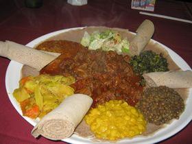 Abyssinia Ethiopian Restaurant, Raleigh, NC