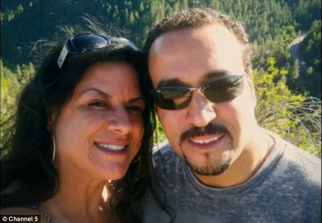 Dina, 45, and Mostafa, 44, met online and after a week of meeting in person they got marri...