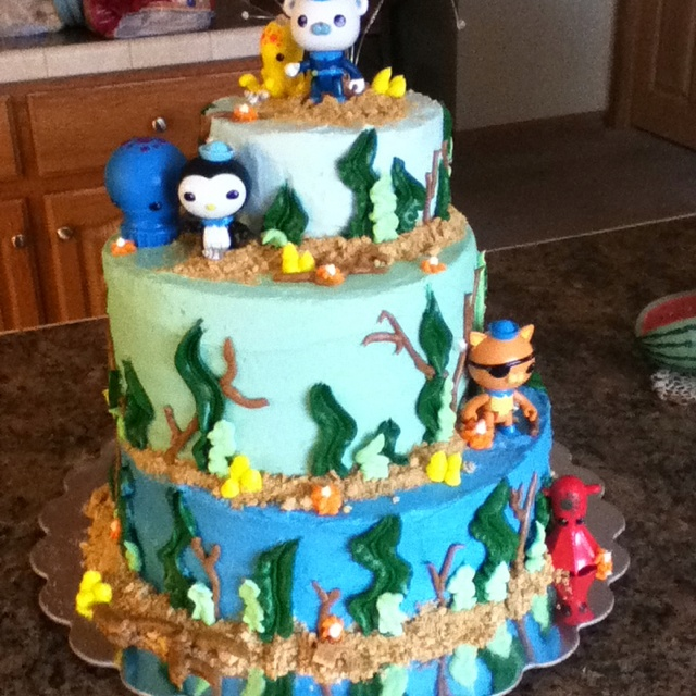 Now the munchkins want an Octonauts birthday party...