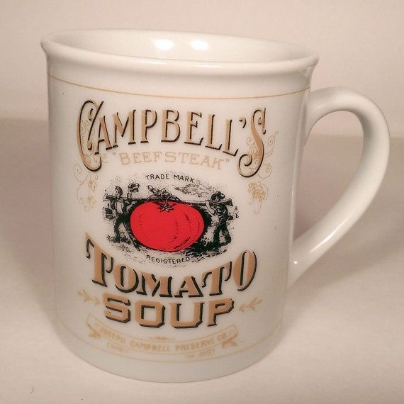 Campbell's Soup Company Collectors Soup Mug, 125th Anniversary - Vintage…