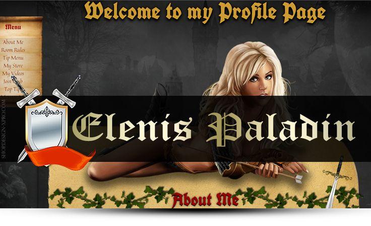 MyFreeCams design Elenis Paladin