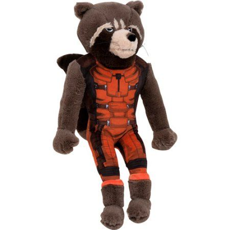 Marvel Guardians of the Galaxy Rocket Raccoon Pillow Buddy, Brown