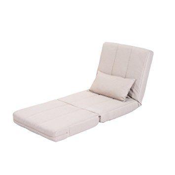 Homcom klappbarer Schlafsessel Schlafsofa Klappmatratze Faltmatratze Gästebett Klappbett Bett (Modell 4): Amazon.de: Küche & Haushalt