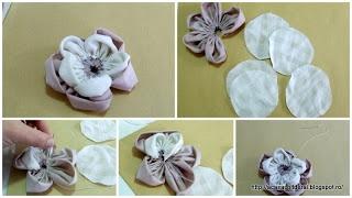 by Acasa Colt de Rai - Are headbands still in fashion? TUTORIAL - fabric flower headband