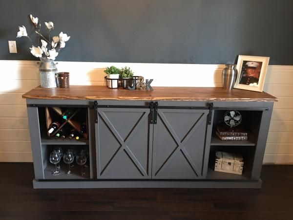 17 Best Ideas About Barn Door Tables On Pinterest