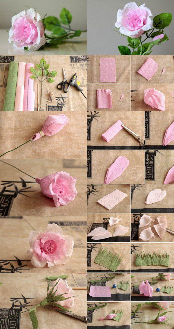 origami flower - 40 Origami Flowers You Can Do
