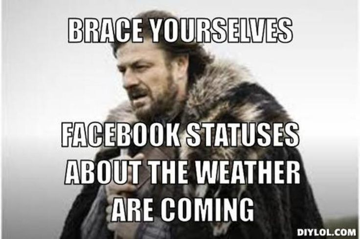 crazy weather meme