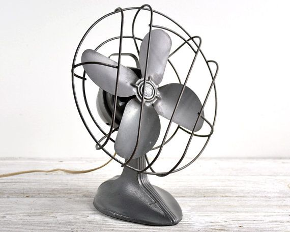 Vintage Industrial Electric Fan  / Industrial by havenvintage, $54.00
