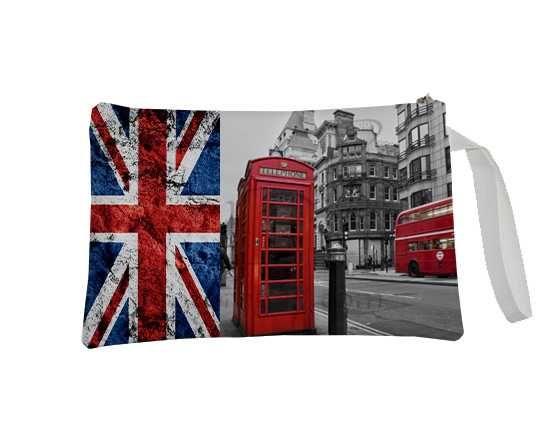 La pochette in stile londinese da decorare