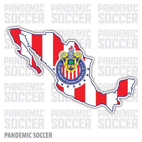 Chivas Rayadas Mexico Vinyl Sticker Decal Calcomania